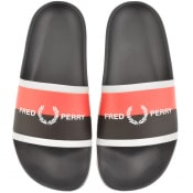 Product Image for Fred Perry Logo Sliders Navy